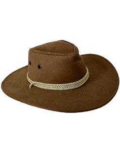Lier - Carnaval - Western - cowboys - cowgirl - hoed - themafeest - western hoofddeksel - volwassenen - kinderen - beige