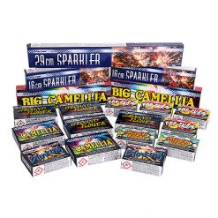 Lier - Verjaardag - Nieuwjaar - Huwelijk - Kerstmis - siervuurwerk - sterretjes - bengaals vuur - bommetjes - vuurwerk