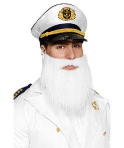 Lier - Kerstmis - themafeest - kerstmanbaard - kapitein - tovenaar - witte baard - witte snor - Sinterklaas
