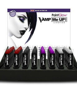 Lier - grime - Fun-Shop - make-up - lipstick - halloween - heksen - paars - vampieren - rood - zwart - wit - cosplay