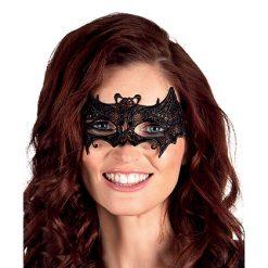 Lier - Carnaval - Halloween - stoffen masker - kanten masker - eye mask - vleermuis - vampieren