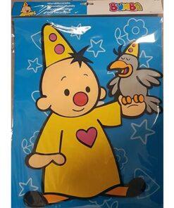 Lier - Bumba - Studio 100 - versiering - slaapkamer decoratie - clown - verjaardag - muurdecoratie - kiwi - Fun - Shop