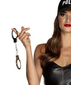 Lier - Carnaval - thema politie - handboei - speelgoed handboeien - boeven - gangster - politieagent - fbi - police - gevangene