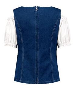 Tiroler blouse dames - Après ski - Lier - Oktoberfest kleding - bavarian - oostenrijk - duitsland - bierfeest - trachtenmode - jeans
