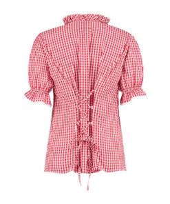 Tiroler blouse dames - Après ski - Lier - Oktoberfest kleding - bavarian - oostenrijk - duitsland - bierfeest - trachtenmode