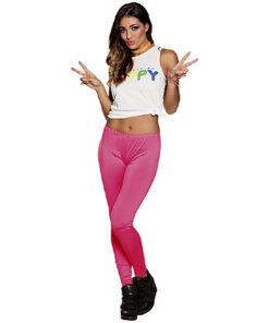 Lier - jaren 80 - 80's - jaren 90 - i love the 90's - kamping kitsch - Fun-Shop - foute party - neon - Fluo dag - roze broek