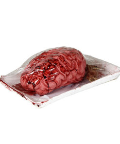 Halloween Decoratie - Lier - wanddecoratie - tafeldecoratie - slager - vacuum verpakte hersenen - brein