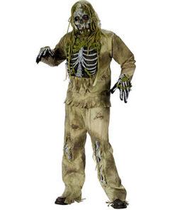 Halloween kostuum - Lier - verkleedkostuums - verkleedkledij volwassenen - griezelen - schedel - skull - geraamte - zombie