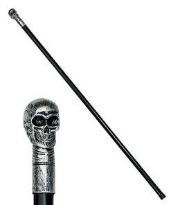 Lier - Carnaval - Halloween - dia de los muertos - day of the dead - schedel - skull - cane - skelet - stok - staf