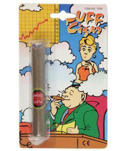 Lier - Fun-Shop - fop artikelen - grappig - grapje uithalen - foppen - voor de gek houden - nep sigaar - nep rook