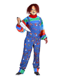 Halloween kostuum - Lier - verkleedkostuums - verkleedkledij volwassenen - griezelen - voodoo - pop - film figuur - child's play