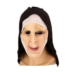 Lier - Carnaval - Halloween - non - nonnenkapje - the nun - horror - filmpersonage - griezel masker