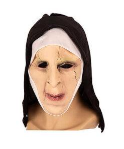 Lier - Carnaval - Halloween - non - nonnenkapje - the nun - horror - filmpersonage - griezel masker