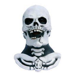 Lier - Carnaval - Halloween - griezelen - gezichtsmasker - schedel - horror - skelet - geraamte
