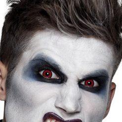 Lier - Carnaval - Halloween - contactlenzen - kleurlens - party lens - gekleurde lenzen - rode ogen - red eyes - creep - zombie