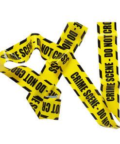 Lier - Carnaval - Halloween - Maffia - politie - plaats delict - keep out - danger - verboden toegang - decoratielint