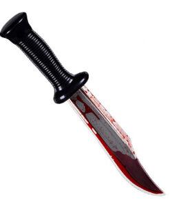 Halloween accessoires - Lier - decoratie - versiering - horror - steekmes - dolk - film - knife - wapen - steekwonde