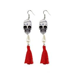 Lier - Carnaval - Halloween - sieraad - oorhangers - schedels - skull - skelet - piraten - day of the dead - dia de los muertos