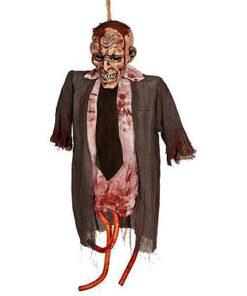 Halloween Decoratie - Lier - wanddecoratie - poppen - griezel - lichtgevende pop - horror - bloed
