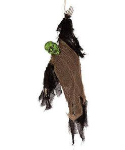 Halloween Decoratie - Lier - hangende decoratie - trillen - schudden - halloween pop - lichtgevende ogen