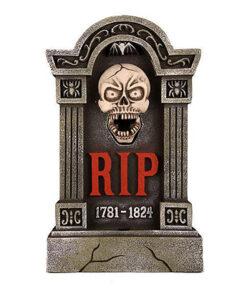 Halloween Decoratie - Lier - wanddecoratie - tafeldecoratie - skeletten - grafzerken - bewegende beelden - sprekend skelet