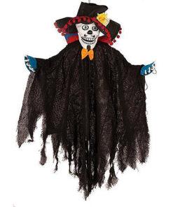 Halloween Decoratie - Lier - wanddecoratie - dia de los muertos - day of the dead - sprekend skelet - lichtgevend doodshoofd