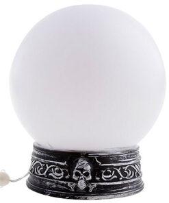Halloween decoratie - Lier - versiering - decoratie - plastic - glazen bol - licht - geluid - beweging - heksen