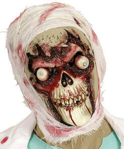Lier - Carnaval - Halloween - griezelen - gezichtsmasker - skull - geraamte - eng gezicht - horror