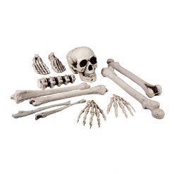 Halloween Decoratie - Lier - wanddecoratie - tafeldecoratie - skeletten - bones - schedel - geraamte