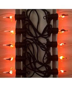 Halloween Decoratie - Lier - lichtslinger - lampjes - sfeerverlichting - kaars - vlam - vuurlamp - buitenverlichting