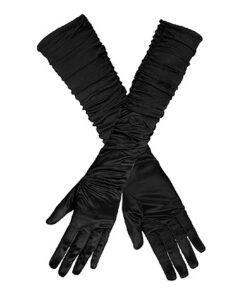 Handschoen Ruffle Zwart