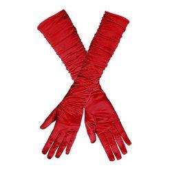 Handschoen Ruffle Rood