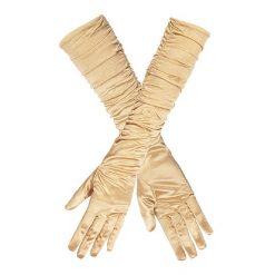 Handschoen Ruffle Goud