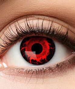 Lier - Carnaval - Halloween - contactlenzen - kleurlenzen - gekleurde lenzen - rood - zwart - zombie - creepy