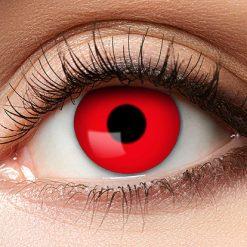 Lier - Carnaval - Halloween - contactlenzen - kleurlenzen - gekleurde lenzen - sterktelens - rood oog - red eye - duivel