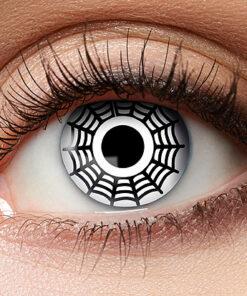 Lier - Carnaval - Halloween - contactlenzen - kleurlens - party lens - gekleurde lenzen - spin - spinnenweb - spinnenoog
