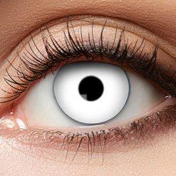 Lier - Carnaval - Halloween - contactlenzen - kleurlens - gekleurde lenzen - party lens - witte oog - witte lenzen