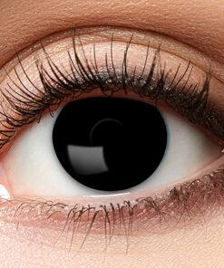 Lier - Carnaval - Halloween - contactlenzen - kleurlenzen - gekleurde lenzen - sterktelens - zwart oog - black eye -