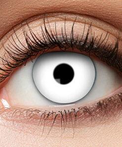 Lier - Carnaval - Halloween - contactlenzen - kleurlenzen - gekleurde lenzen - sterktelens - wit oog - witte lens