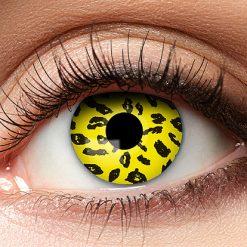 Lier - Carnaval - Halloween - contactlenzen - kleurlens - gekleurde lenzen - party lens - luipaard - cat - kat - leopard