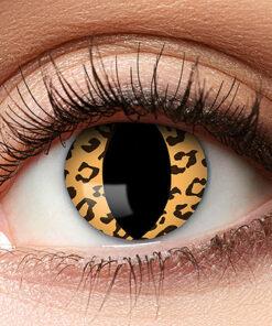 Lier - Carnaval - Halloween - contactlenzen - kleurlens - gekleurde lenzen - party lens - luipaard - kattenoog - leopard