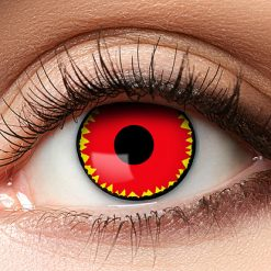 12-Maand Kleurlenzen Demonic Red