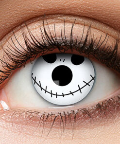 Lier - Carnaval - Halloween - contactlenzen - kleurlens - party lens - gekleurde lenzen - gezicht - mummy - smiley - emoji