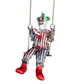 Halloween Decoratie - Lier - wanddecoratie - circus - enge clown - it - sprekende clown - bewegende clown - circusmuziek