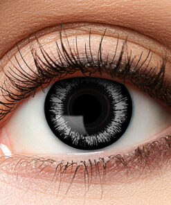 Lier - Carnaval - Halloween - contactlenzen - kleurlens - party lens - gekleurde lenzen - zwarte lenzen - zwart oog - demonen