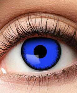 Lier - Carnaval - Halloween - contactlenzen - kleurlens - gekleurde lenzen - party lens - blauwe ogen - blue eyes - kamping kitsch