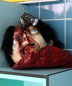 Halloween decoratie - Lier - ledematen - bloed - horror - afgehakte kop - schedel - griezelig