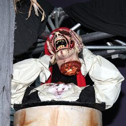 Halloween Decoratie - Lier - staande griezel - piraten - afgehakt hoofd - enge griezel - ingewanden
