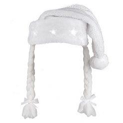 Lier - Kerstmis - themafeest - Kerstfeest - grappige muts - witte muts - led verlichting - lichtgevende sterren