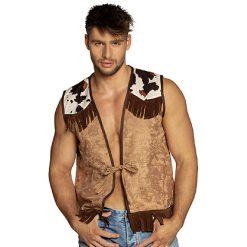 Cowboy Gilet Camel Man